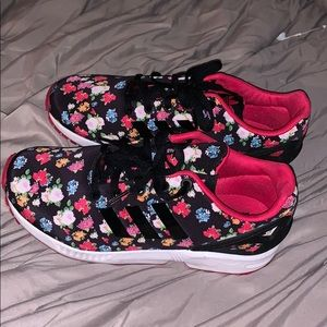 Floral Print Adidas Sneaker